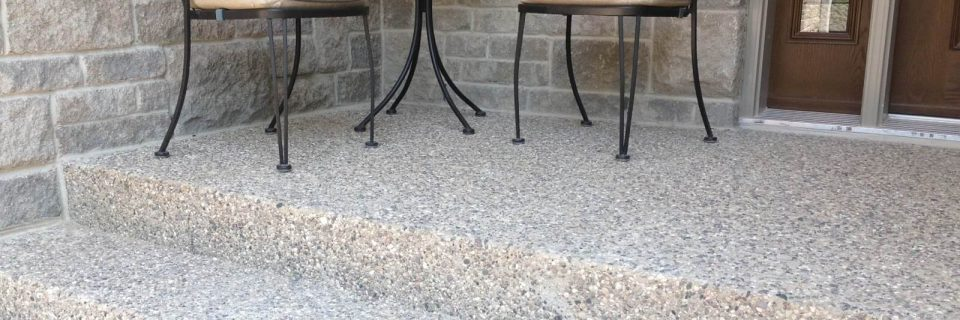 Welcome Friends and Family to Your Home with Exposed Aggregate Concrete
